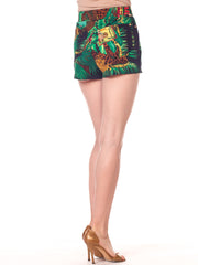 Gianni Versace Jungle Print Shorts