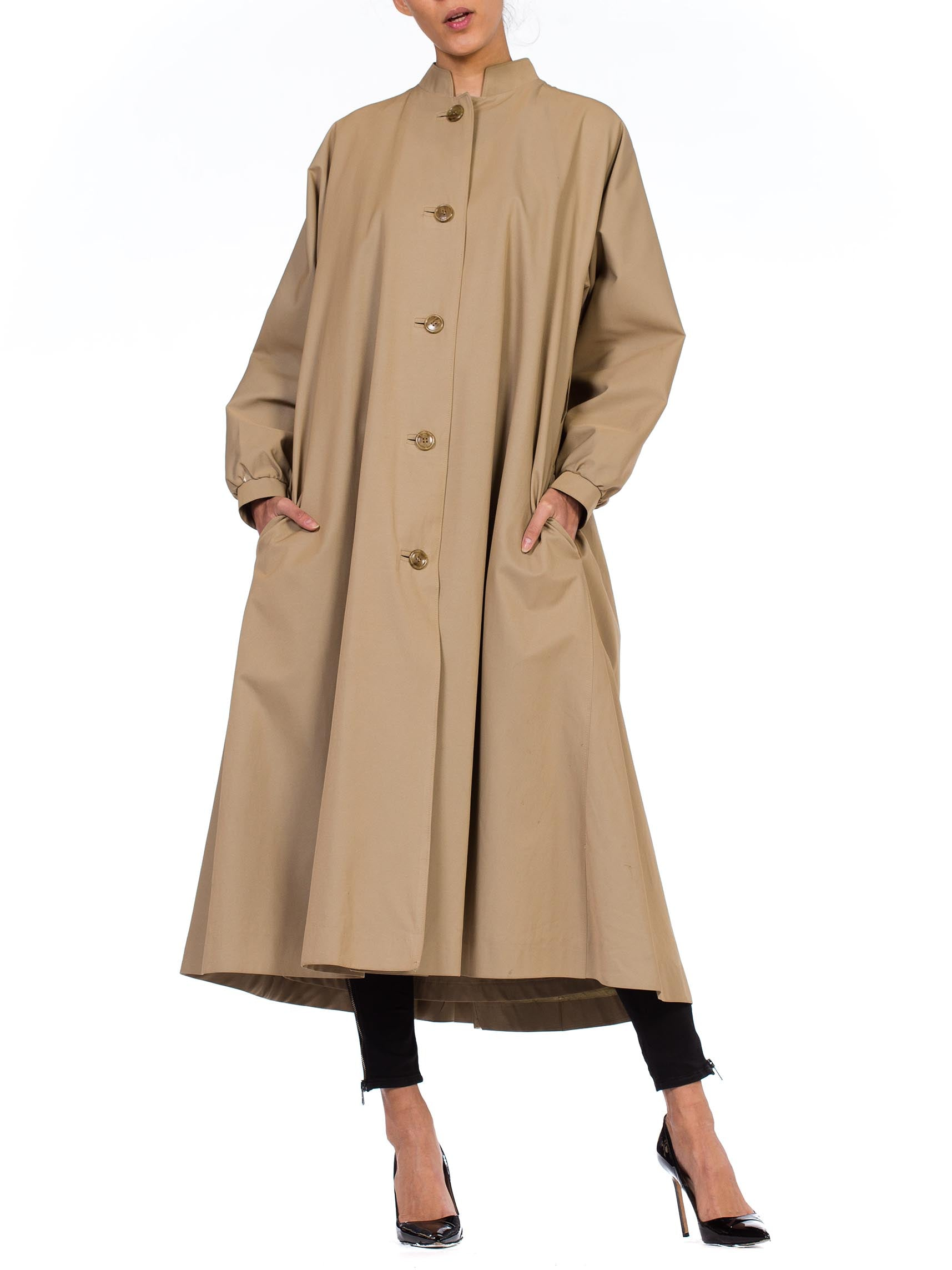 1970s Halston Rain Trench Coat