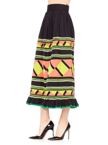 Black Seminole Skirt