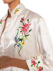 Asian Embroidered Kimono