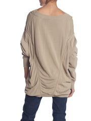 Alaia Oversized Slouchy Knit Top