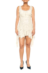 Morphew Lab Ivory Lace Dress
