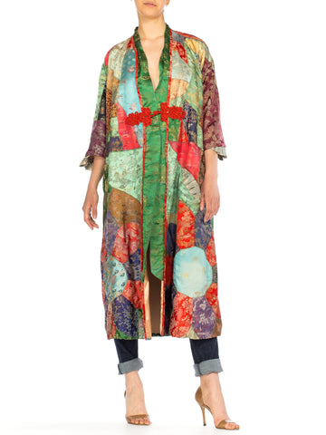 1930s Asian Patchwork Coat