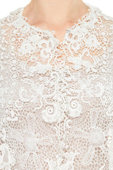 Victorian Lace Top with 3/4 Sleeves