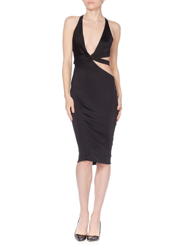 Gucci by Tom Ford Jersey Cutout Dress