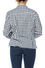 Vivian Westwood Gingham Ruffles Heart Blouse NWT