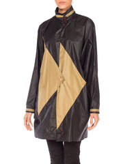 1980s Oversized Modernist Coat Jacket with Bat sleeves