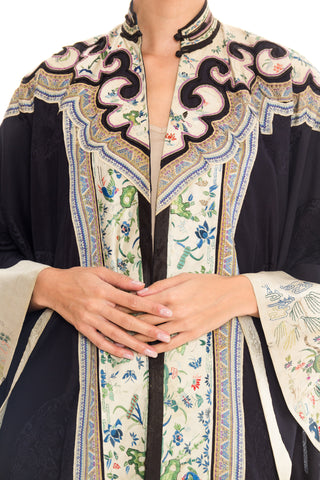1980 1890'S Antique Chinese Embroidered Coat