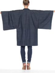 Mens Japanese Kimono With Hand Printed Tiger
