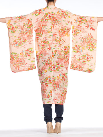1940's Sheer Light Weight Japanese Kimono