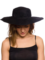1930s Gypsy Soul Black Hat