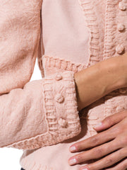 Tom Ford for Yves Saint Laurent Pink Wool Jacket