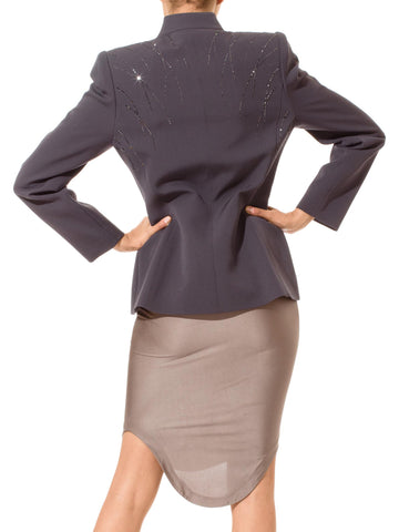 Thierry Mugler Jacket With Swarovski Crystals