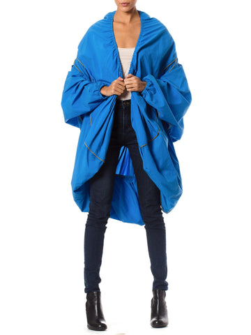 Flouncy Vintage HENRIK VIBSKOV COPENHAGUE Bright Blue Coat