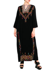Hand Embroidered Caftan