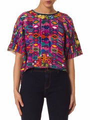1970s Peruvian Hand Embroidered Top