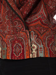 Victorian Paisley Shawl Made into a Jacket