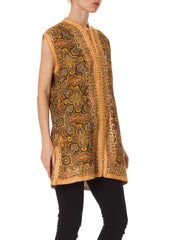 1970s Embroidered Ethnic Tunic