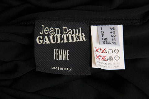 1990S Jean Paul Gaultier Jersey Zipper