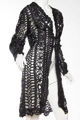 1890s Belle Epoch Silk Ribbon Lace Jacket