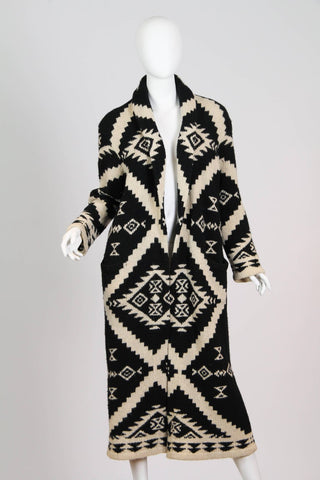 Ralph Lauren Hand-Knit Maxi-Sweater