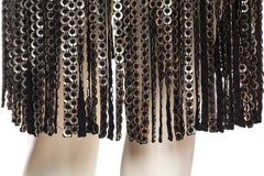 Metal Disc Fringe Dress