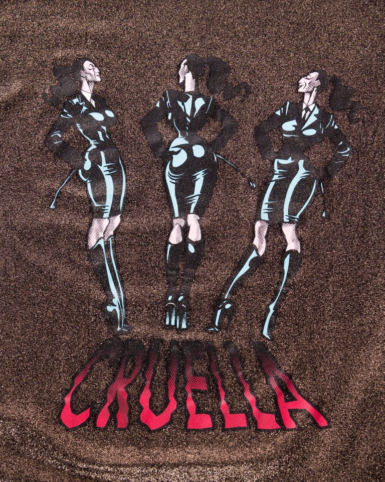 "1990 Jean Paul Gaultier Nylon, Spandex Gold ""Cruella"" Shirt Top"