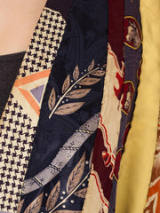 1930s Avant Garde Silk Ties Turned Into a Jacket