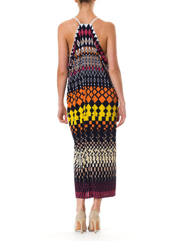 1970S MORPHEW LAB Maxi Resort Dress