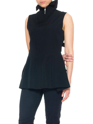Yohji Yammamoto Backless Deconstructed Vest