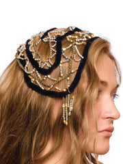 Timeless Pearls Headpiece from 1920s