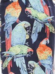 1960s Donald Brooks Parrot Dress