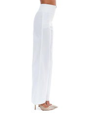 Chanel White Sailor Trousers