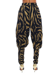 1980s Norma Kamali Animal Print Jacket and Pants