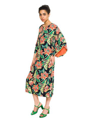1940s Hawaiian Tropical Dress