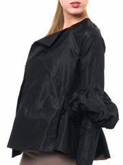 Medieval Revival Silk Taffeta Edwardian Jacket