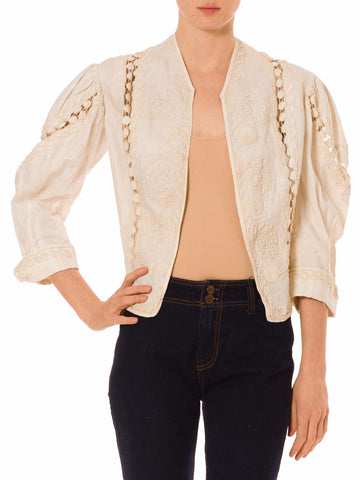 Earnest Linen Jacket From The 20th Century