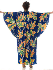 Morphew Collection Silk Kaftan Made From Vintage Japanese Kimono Fabric