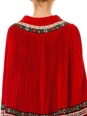 Matryoshka Red Cape From The 60s