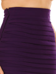 Versace Purple Skirt From The 80s