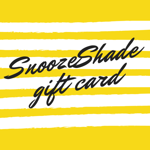 SnoozeShade gift cards - SnoozeShade UK