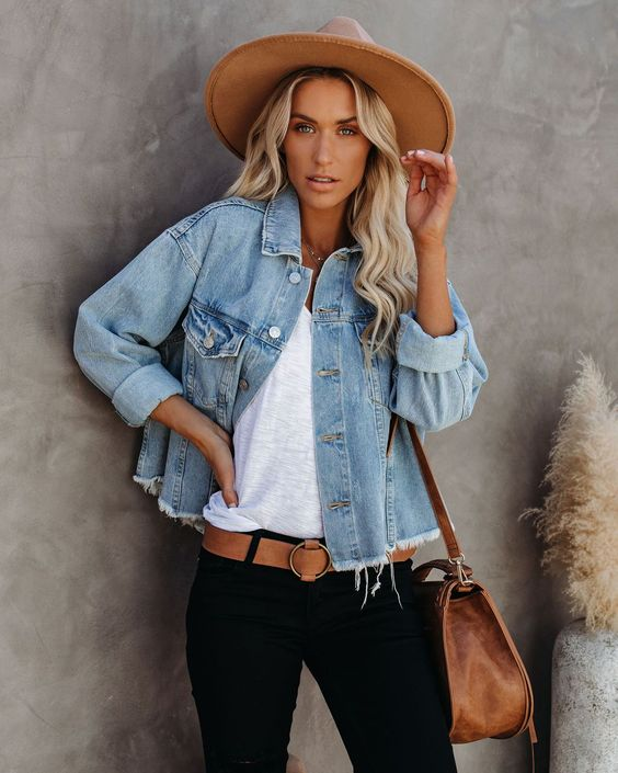 5 Ways to Style Your Jean Jacket this Fall