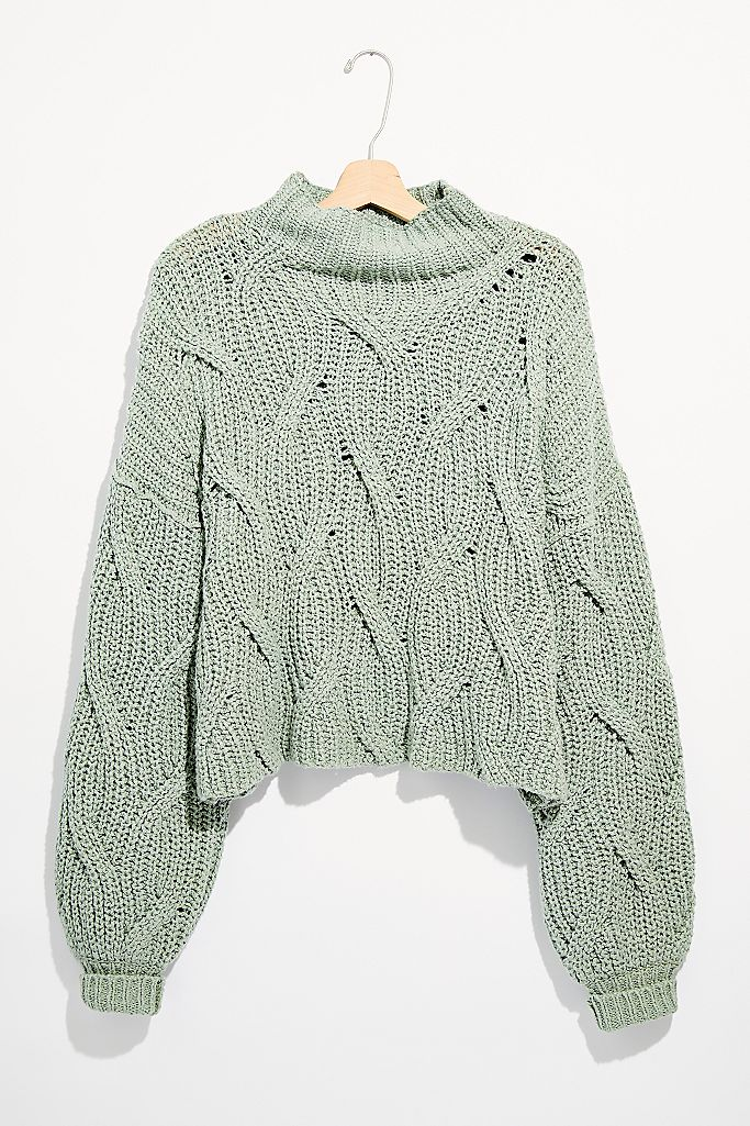 Seasons Change Sweater Mint