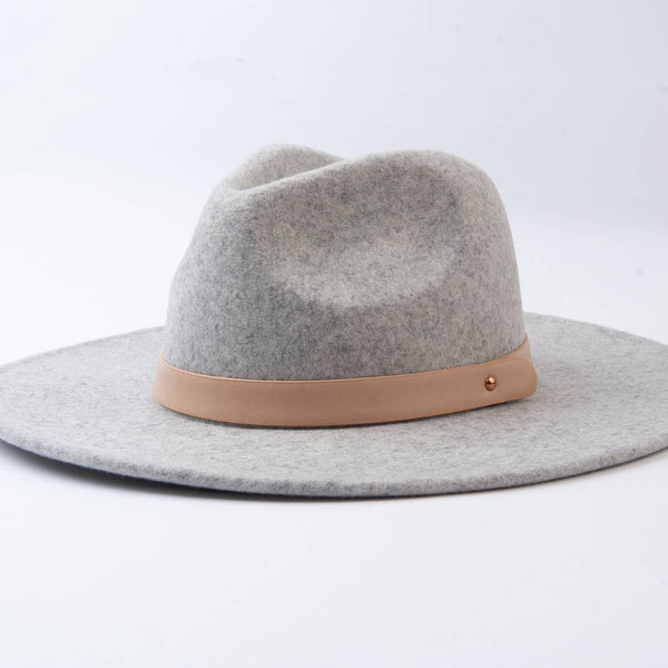 Heather Grey Fedora