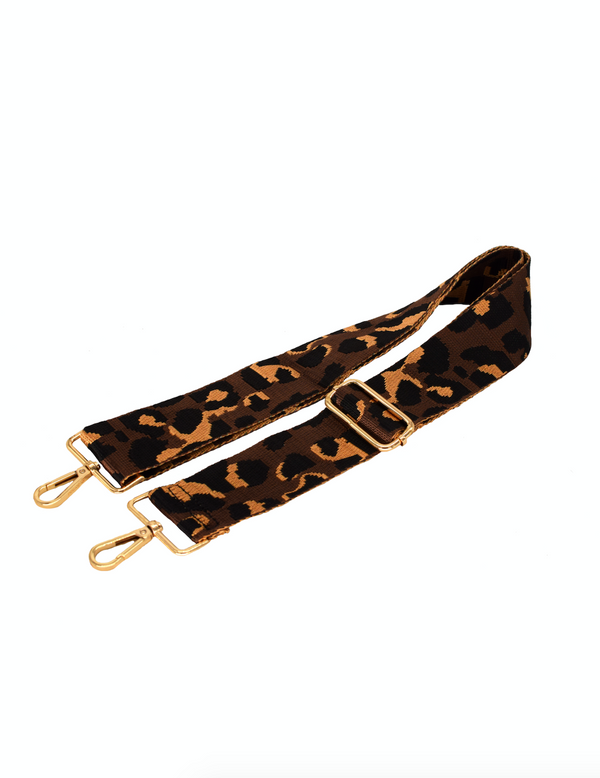 Brown Camo Bag Strap