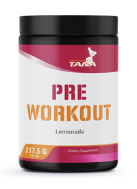 Train with Tana - Pre Workout - Lemonade Flavor.