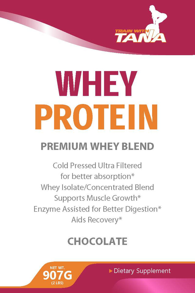 This premium whey protein blend is cold pressed and ultra filtered for better absorption. Using my special blend is a great way to support muscle growth, and it includes enzymes to help your body digest better than other powders on the market.