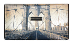 Brooklyn Bridge Crossbody Clutch