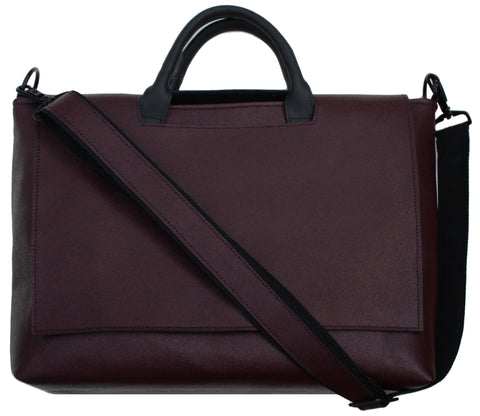 Burgundy Messenger Bag