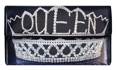 Crystal Crown Clutch